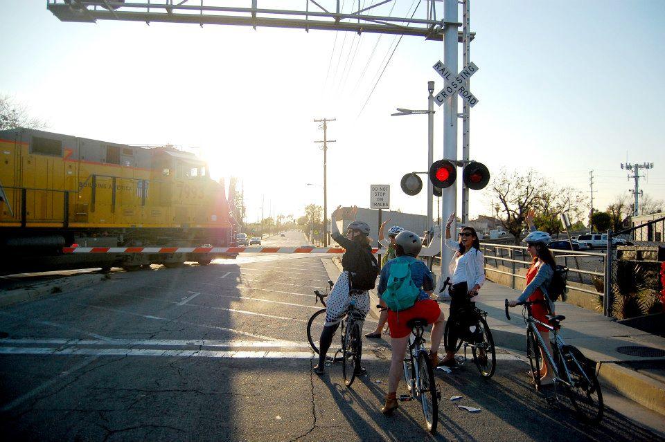 LA Bike Train